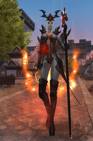 Visão in-game do Replicador Ashura
